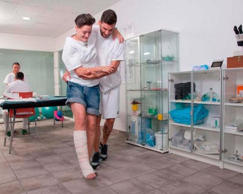 Practicas Curso Auxiliar Fisioterapia - TOP aul@ Online